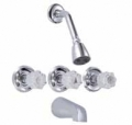 B&K 3-Vlv Tub-Shower Ftg