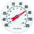 "Chaney 5"" Round Thermometer"