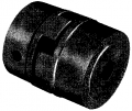 "1/2"" Bore Flex Half Coupling"