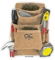 CLC 10Pkt Leather Tool Bag
