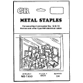 1/2 Metal Cable Staple 100/Bx