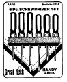 6Pc Great Neck Screwdriver Set