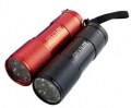2Pk 9LED Flashlight W/3-AAA