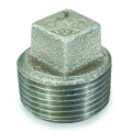 "3/4"" Std Cored Blk Sq Hd Plug"