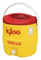 3Gal Red/Yellow Igloo Cooler