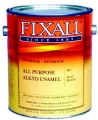 Flat Black Fixall Paint