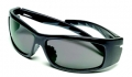 Nuevo Wrap Gray Safety Glasses