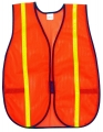Safety Vest W/Reflective Strip