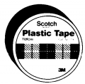 "3M 3/4x125"" Red Plastic Tape"
