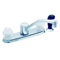 Moen 2 Hdl Sink Faucet W/Spray