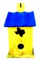 Texas Wooden Bird House