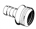 5/8IDx3/4MHT Hose Coupling