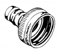 5/8IDx3/4FHT Hose Coupling