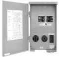 50A Temp/RV Power Outlet Panel