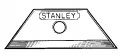 Stanley Mitey Knife Blade 3/Cd