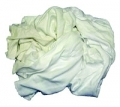 10Lb Bag White Knit Rags