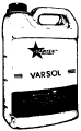 Varsol Solvent In Plastic Can