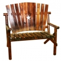 Bench Chair W/Star