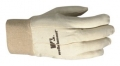 Large White Canvas Glove